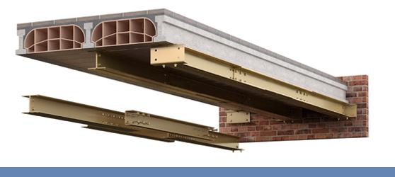 Refuerzo estructural - Sistema MVH